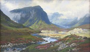 Image of painting Lairg Ghru and Linn