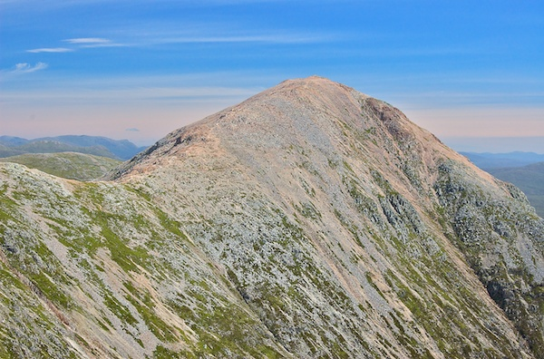 The Buachaille or Stob Dearg from high up and looking north
