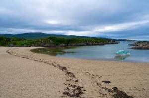 Artoe beach on Loch Moidart