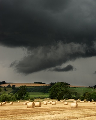 Funnel cloud in Perthshire